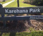 Karehana Park sign