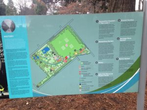 Cornwall park HB map