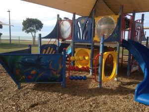 Marine Parade Playground and Mini Bike Track, Napier Kids On Board