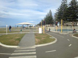 Marine Parade Playground and Mini Bike Track, Napier Kids On Board