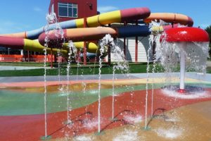 Napier Aquatic slides
