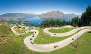 Skyline Queenstown - Luge view
