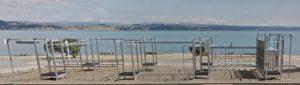 Beach, Swimming and playground at Hardinge Road, Napier Kids On Board