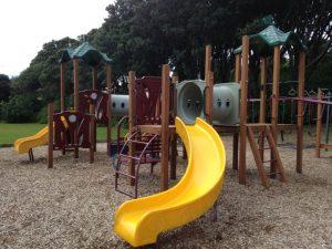 Campbell Park, playground and skatepark, Paekakariki Kids On Board