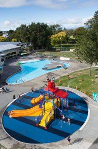 The Lido Aquatic Centre, Palmerston North Kids On Board