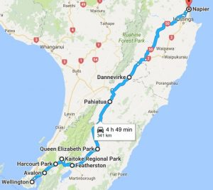 SH2 Wellington – Wairarapa - Hawke's Bay Kids On Board