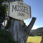 Mussel Inn sign