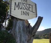 Mussel Inn sign