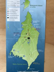 Somes Island map