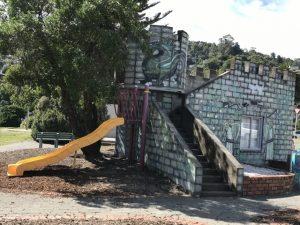 Tahunanui playground castle