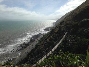 Te Araroa walk between Paekakariki and Pukerua Bay Kids On Board