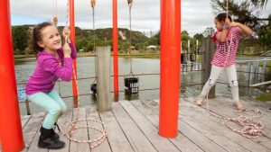 Huka Prawn Park, Taupo Kids On Board