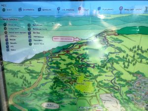 Wainui trail park map