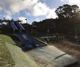 Botanic Playground double slide