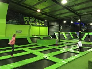 Flip Out Indoor Trampoline Arena, Hastings Kids On Board