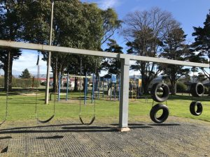 Woodville Playground swings