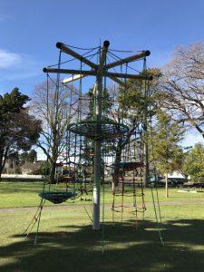 Woodville playground updated equipment