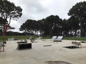 Southern Walkway loop, with playground / skatepark stops, Wellington Kids On Board