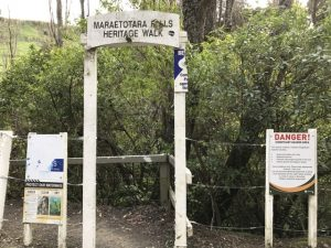 Maraetotara closest entrance