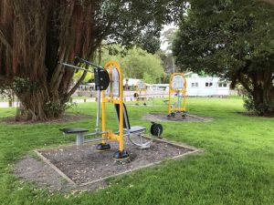 Haruatai Park exercise equipment, Otaki