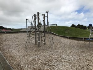 Play equipment at Otaki mini road
