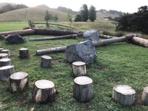 Sawmill play area