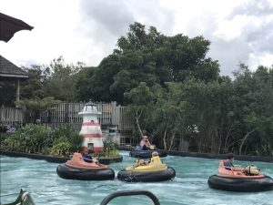 Rainbows End bumper boats