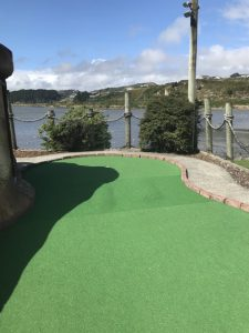 Pirate's Cove Mini Golf, Porirua Kids On Board