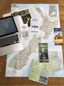 Itinerary planning photo