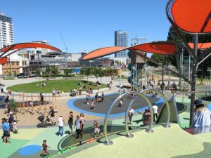 Margaret Mahy Family Playground, Christchurch Kids On Board