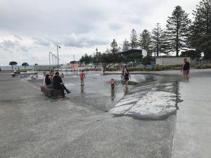 Marine Parade walkway, Napier Kids On Board