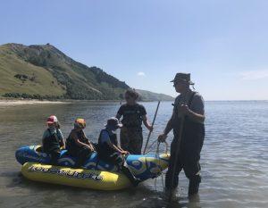 Feeding Stingrays, Tatapouri Bay Kids On Board